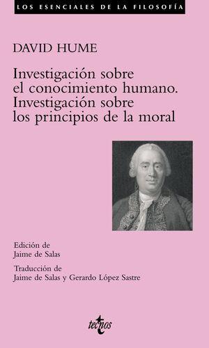 INVESTIGACIÓN SOBRE EL CONOCIMIENTO HUMANO. INVESTIGACIÓN SOBRE LOS PRINCIPIOS DE LA MORAL