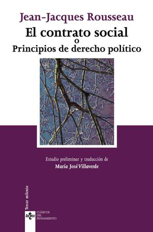 EL CONTRATO SOCIAL O PRINCIPIOS DE DERECHO POLTICO