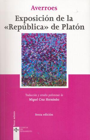 EXPOSICIÓN DE LA REPÚBLICA DE PLATÓN