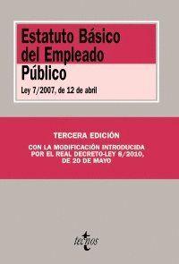 ESTATUTO BÁSICO DEL EMPLEADO PÚBLICO LEY 7/2007, DE 12 DE ABRIL
