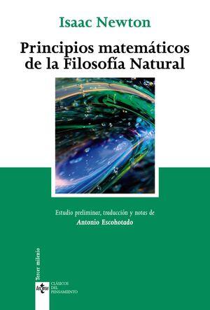 PRINCIPIOS MATEMÁTICOS DE LA FILOSOFA NATURAL