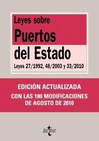 LEYES SOBRE PUERTOS DEL ESTADO LEYES 27/1992, 48/2003 Y 33/2010