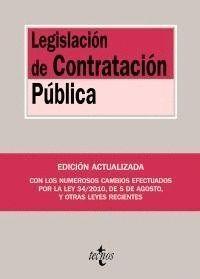 LEGISLACIÓN DE CONTRATACIÓN PÚBLICA