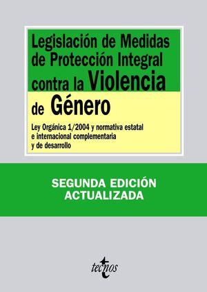 LEGISLACIÓN DE MEDIDAS DE PROTECCIÓN INTEGRAL CONTRA LA VIOLENCIA DE GÉNERO LEY ORGÁNICA 1/2004 Y NO