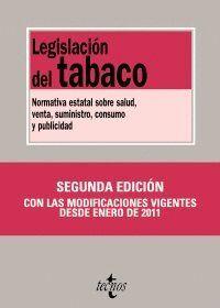 LEGISLACIÓN DEL TABACO NORMATIVA ESTATAL SOBRE SALUD, VENTA, SUMINISTRO, CONSUMO Y PUBLICIDAD