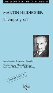 TIEMPO Y SER