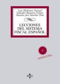 LECCIONES DEL SISTEMA FISCAL ESPAÑOL CONTIENE CD ROM