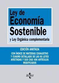 LEY DE ECONOMA SOSTENIBLE Y LEY ORGÁNICA COMPLEMENTARIA