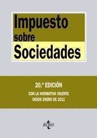 IMPUESTO SOBRE SOCIEDADES CON LA NORMATIVA VIGENTE DESDE ENERO DE 2011