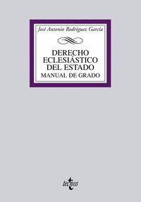 DERECHO ECLESIÁSTICO DEL ESTADO MANUAL DE GRADO
