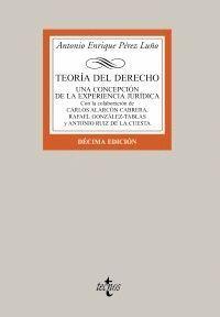 TEORA DEL DERECHO UNA CONCEPCIÓN DE LA EXPERIENCIA JURDICA
