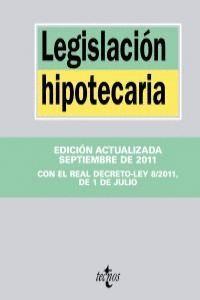 LEGISLACIÓN HIPOTECARIA 2011