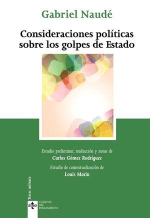 CONSIDERACIONES POLTICAS SOBRE LOS GOLPES DE ESTADO