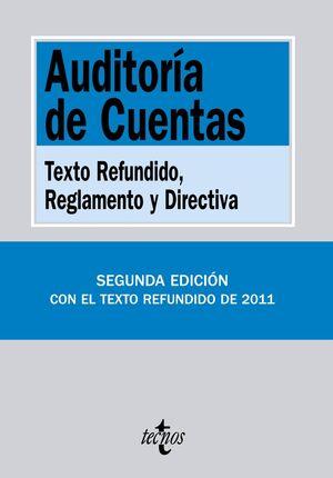 AUDITORA DE CUENTAS TEXTO REFUNDIDO, REGLAMENTO Y DIRECTIVA