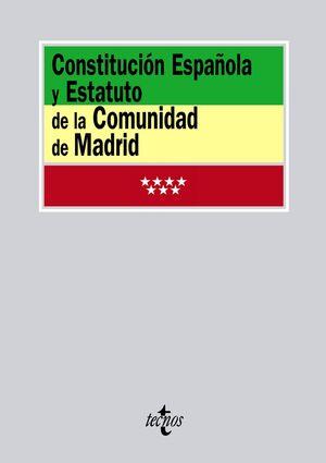 CONSTITUCIÓN ESPAÑOLA Y ESTATUTO DE LA COMUNIDAD DE MADRID