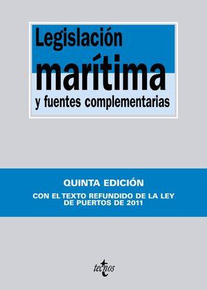LEGISLACIÓN MARÍTIMA Y FUENTES COMPLEMENTARIAS