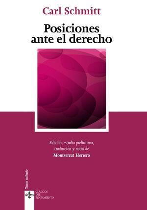 POSICIONES ANTE EL DERECHO