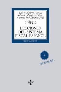 LECCIONES DEL SISTEMA FISCAL ESPAÑOL CONTIENE CD