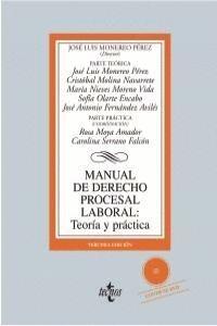 MANUAL DE DERECHO PROCESAL LABORAL: TEORA Y PRÁCTICA