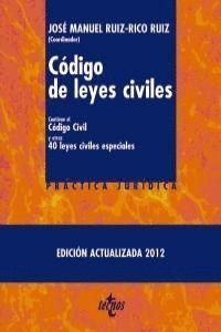 CÓDIGO DE LEYES CIVILES CONTIENE EL CÓDIGO CIVIL Y OTRAS 40 LEYES CIVILES ESPECIALES