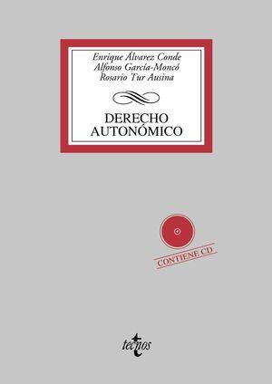 DERECHO AUTONÓMICO CONTIENE CD