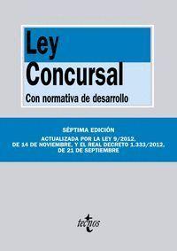 LEY CONCURSAL CON NORMATIVA DE DESARROLLO. SÉPTIMA EDICIÓN
