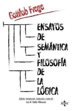 ENSAYOS DE SEMÁNTICA Y FILOSOFÍA DE LA LÓGICA