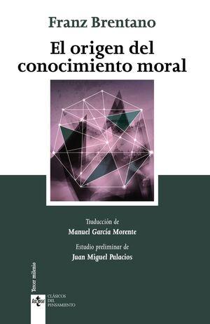 EL ORIGEN DEL CONOCIMIENTO MORAL