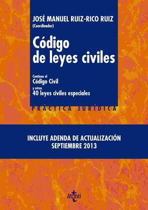 CÓDIGO DE LEYES CIVILES