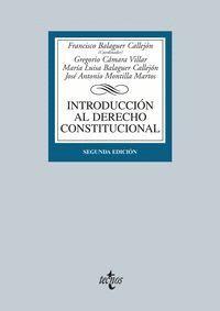 INTRODUCCIÓN AL DERECHO CONSTITUCIONAL SEGUNDA EDICIÓN