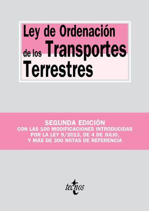 LEY DE ORDENACIÓN DE LOS TRANSPORTES TERRESTRES