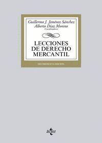 LECCIONES DE DERECHO MERCANTIL DÉCIMOSEXTA EDICIÓN
