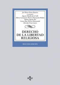 DERECHO DE LA LIBERTAD RELIGIOSA SEGUNDA EDICIÓN