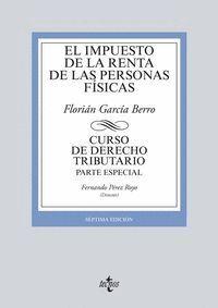 EL IMPUESTO DE LA RENTA DE LAS PERSONAS FSICAS CURSO DE DERECHO TRIBUTARIO.PARTE ESPECIAL. SÉPTIMA