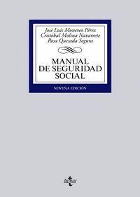 MANUAL DE SEGURIDAD SOCIAL NOVENA EDICIÓN