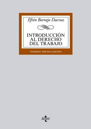 INTRODUCCIÓN AL DERECHO DEL TRABAJO