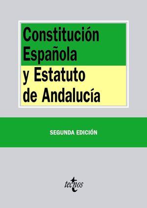 CONSTITUCIÓN ESPAÑOLA Y ESTATUTO DE  ANDALUCA
