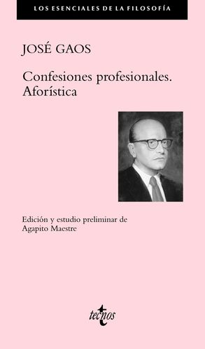 CONFESIONES PROFESIONALES. AFORSTICA