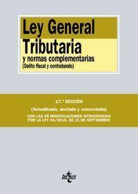 LEY GENERAL TRIBUTARIA Y NORMAS COMPLEMENTARIAS DELITO FISCAL Y CONTRABANDO