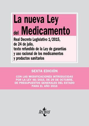 LA NUEVA LEY DEL MEDICAMENTO