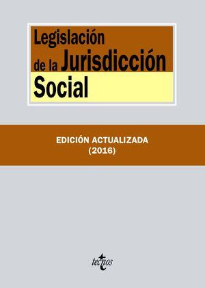 LEGISLACIÓN DE LA JURISDICCIÓN SOCIAL