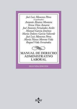 MANUAL DE DERECHO ADMINISTRATIVO LABORAL