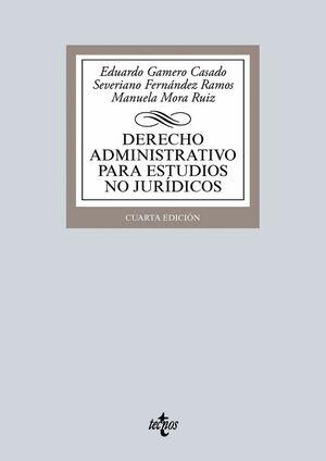 DERECHO ADMINISTRATIVO PARA ESTUDIOS NO JURDICOS (ADAPTADO AL EEES)