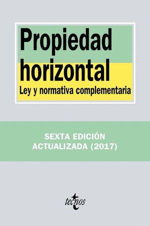 PROPIEDAD HORIZONTAL LEY Y NORMATIVA COMPLEMENTARIA