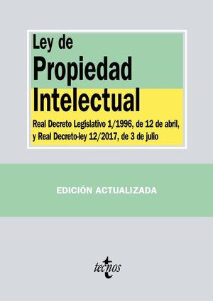 LEY DE PROPIEDAD INTELECTUAL REAL DECRETO LEGISLATIVO 1/1996, DE 12 DE ABRIL, Y LEY 21/2014, DE 4 DE