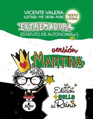ESTATUTO DE AUTONOMÍA DE EXTREMADURA. VERSIÓN MARTINA.