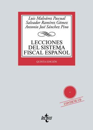 LECCIONES DEL SISTEMA FISCAL ESPAÑOL