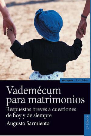 VADEMECUM PARA MATRIMONIOS, 2ª ED