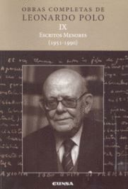 (L.P. IX) ESCRITOS MENORES (1951-1990)