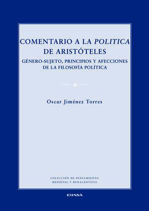 COMENTARIO A LA POLÍTICA DE ARISTÓTELES